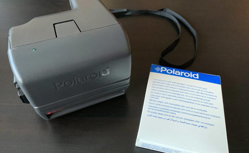 My Polaroid experience