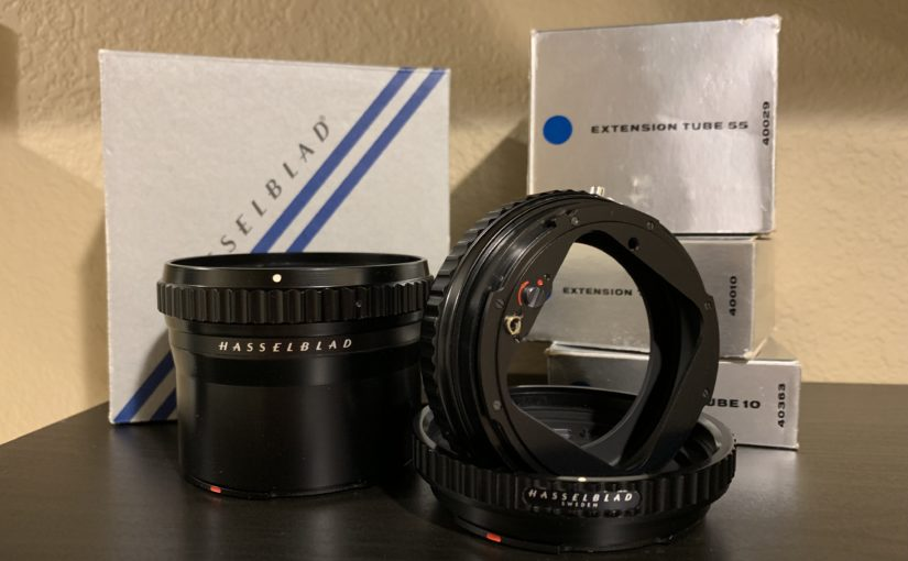 Hasselblad Extension Tube Manual (10mm, 21mm, 55mm)